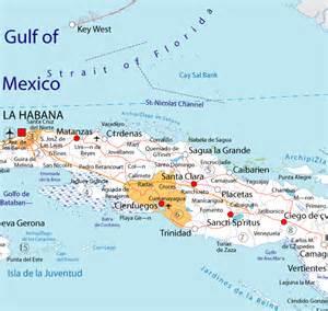 Cienfuegos Cuba Map