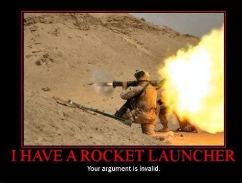 military humor funny joke rocket launcher arguments