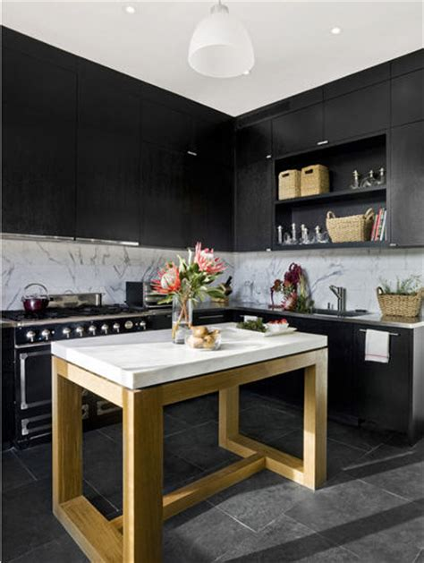 matte black kitchen cabinets iconic designs open shelves in the kitchen 7403