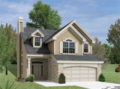 Northhampton Narrow Lot Home Plan 007d-0127