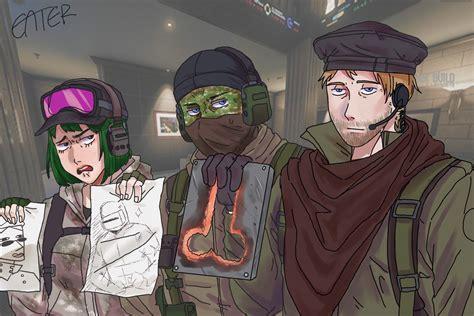 Rainbow Six Siege Art, Tom