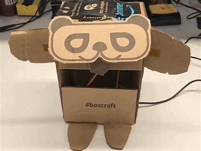 Box Panda Trash Boxes Shipping Project Into
