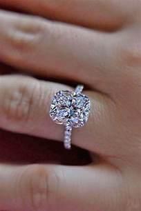 cushion cut engagement rings classic cushion cut engagement rings mywedding