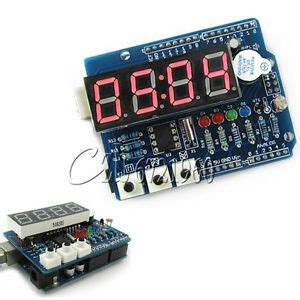 Real Time Clock Shield Digital Tube Module Thermal Rtc