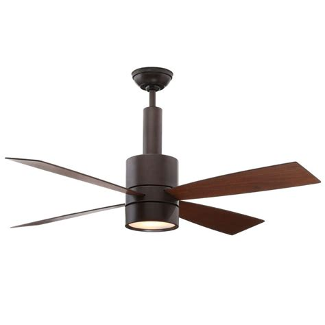 casablanca bullet fan review casablanca piston 52 in led indoor outdoor brushed slate