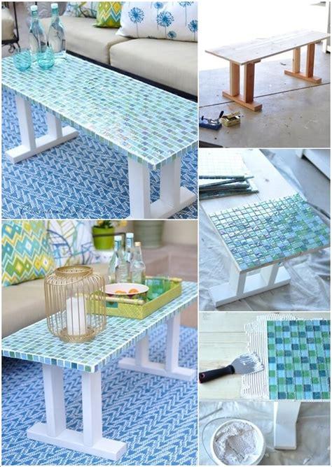diy outdoor coffee table ideas