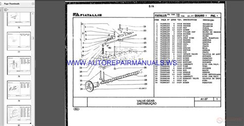 fiat allis motor grader full set parts catalog dvd auto