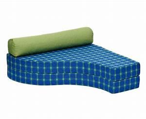Polster Für Couch : nilanty bett sofa blaukariert ohne polster ~ Michelbontemps.com Haus und Dekorationen