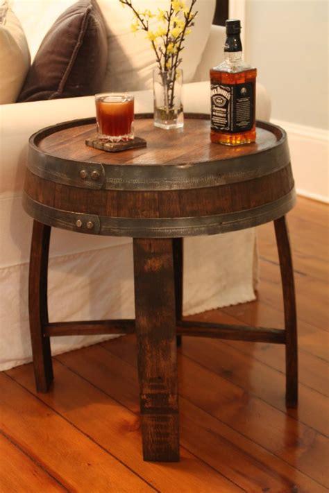 handcrafted oak whiskey barrel  table wine barrel