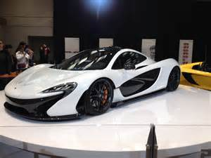 McLaren P1 Black and White
