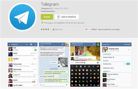 ya puedes descargar telegram 1 4 6 para android