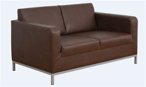 Sofa Settee Or by Modena 2 Seater Leather Sofa Settee Available In Black Or