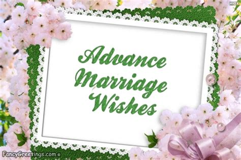 advance marriage wishes advance marriage