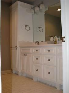 Longer Bathroom Linen Cabinets — Jen & Joes Design