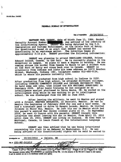 6 mb fbi file 2 88 pages 3 mb fbi file 3.ufo casebook. FBI Document   Identity Document   Espionage