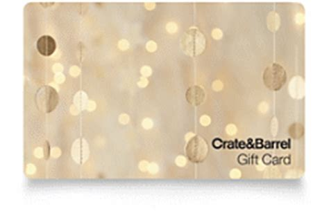 Check spelling or type a new query. Gift Cards. Buy Online and Check Balance   Crate and Barrel