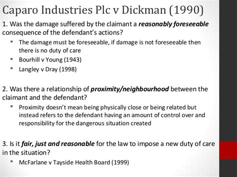 Lecture 10 Law Of Tort