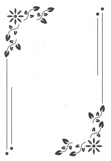 paginas blancas decoradas yahoo search results espa 241 ol bordes y marcos bordes para
