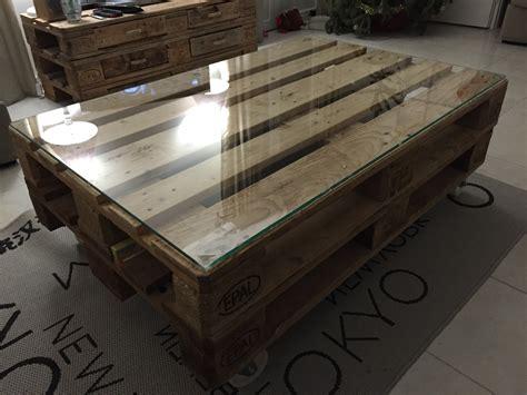 Table Salon Palette la table basse en bois de palette galerie avec table salon