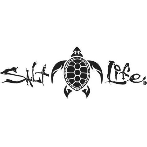 signature turtle decal salt life  carolina pinterest