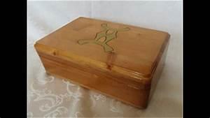 Schmuckkästchen Aus Holz : schmuckschatulle aus holz zwilling sternzeichen youtube ~ Watch28wear.com Haus und Dekorationen
