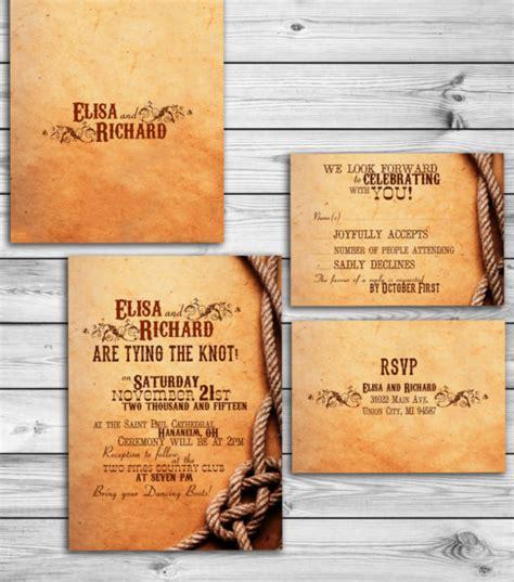 country wedding invitation templates psd word ai
