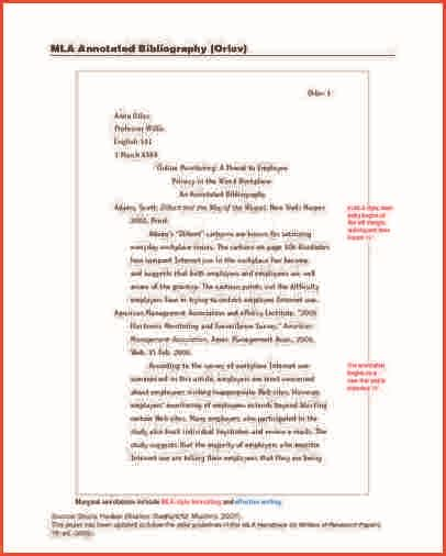 mla annotated bibliography template exles annotated bibliography