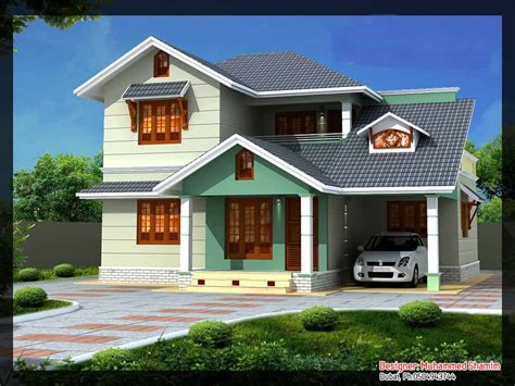 Villa Design In India (with Plan And Elevation)  1637 Sqft