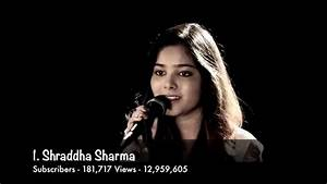 Top 10 Popular Indian Cover Singers on Youtube 2015 - YouTube