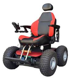 All Terrain Wheel Chair by Out And About Healthcare A0012 Observer Beach 4x4 All