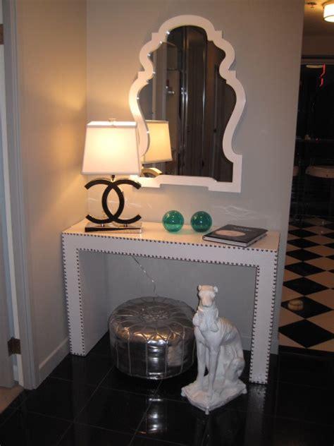 chanel lamp contemporary entrancefoyer