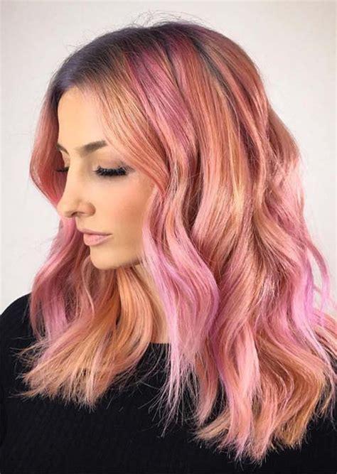 dark rose gold hair  complete guide   trendiest