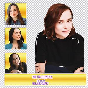 Ellen Page Pack PNG #1 by voidxprescott on DeviantArt
