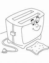 Toaster Preschoolactivities sketch template