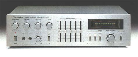 Technics Sh-8030 Stereo Graphic Equalizer/space Dimension