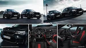 2018 BMW X5 M and X6 M Black Fire Edition Caricos com