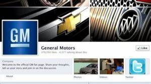 GM Makes a Return to Facebook Advertising (Maybe)