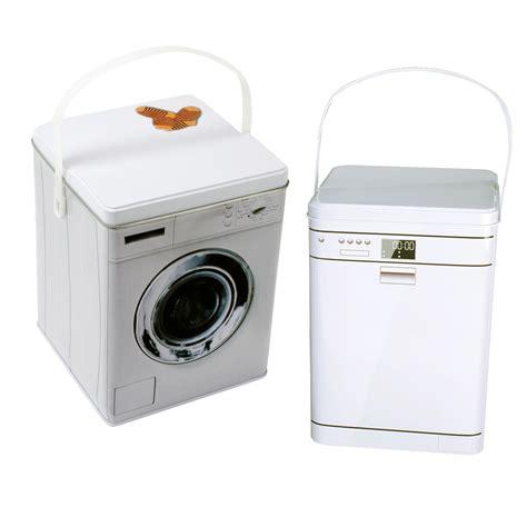 waschmaschine mit waschmittel metalldose metall dose aufbewahrung waschmittel
