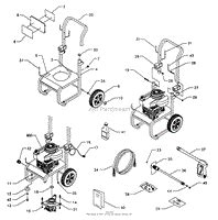 briggs and stratton power products 1430 0 580 768310 2 100 psi craftsman parts diagram for