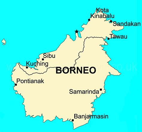 map  borneo  surrounding countries  travel
