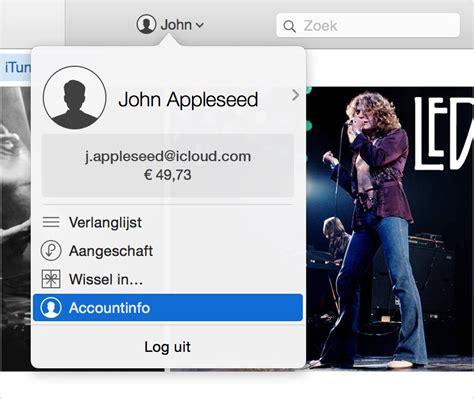 Uw Land Of Regio In De Itunes Store Wijzigen  Apple Support