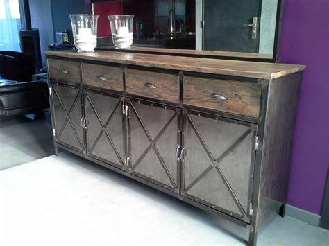 meuble cuisine acier cuisine bois metal cuisine cuisine bois metal avec jaune