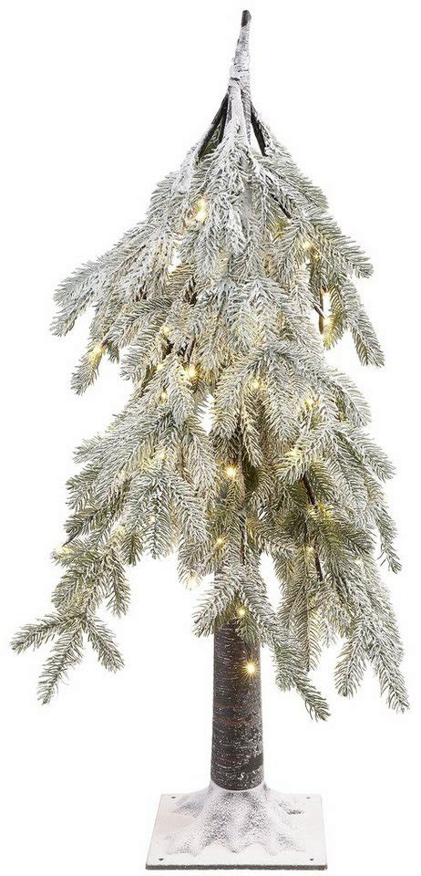 baum für innenbereich led baum leicht beschneit h 246 he 100 cm kaufen otto