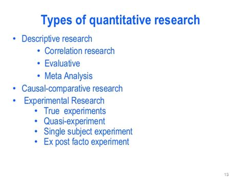 quantitative research design ps