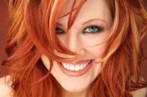 Red Hair Blonde Highlights