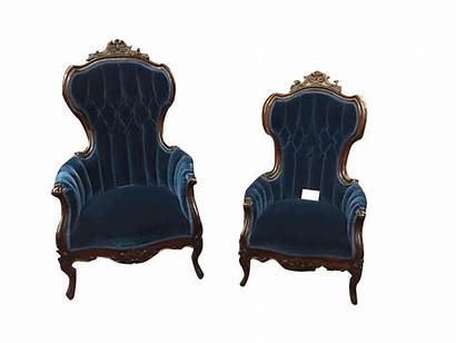Victorian Chairs Antique Mohair Tufted Furniture Sold