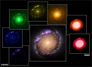 Panel of multi-wavelength and composite images of NGC 1512 ...