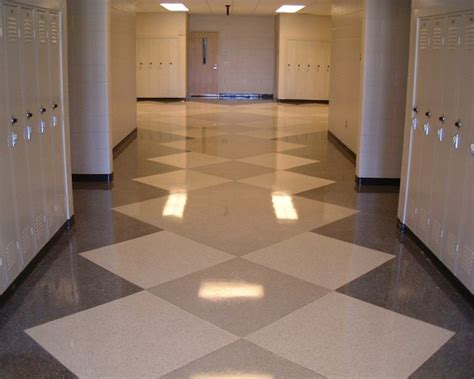 schoolcraft high school central tile terrazzo