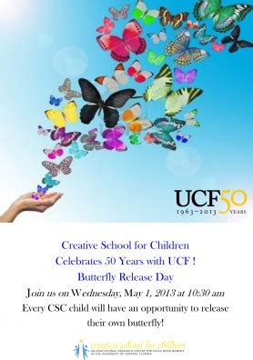 youngest knights  release good luck butterflies ucf news university  central florida
