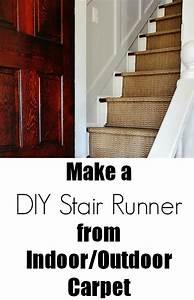 Diy Indoor  Outdoor Stair Runner